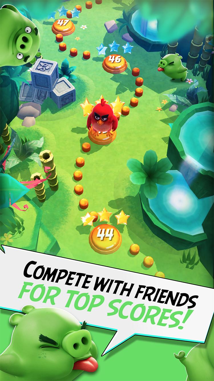 Angry Birds Action! screenshot #4