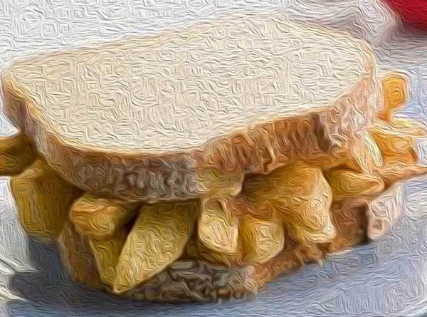 Chips Butty With Homemade Chips Recipe