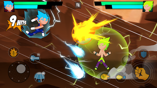 Super Dragon Stickman Battle - Warriors Fight screenshots 12