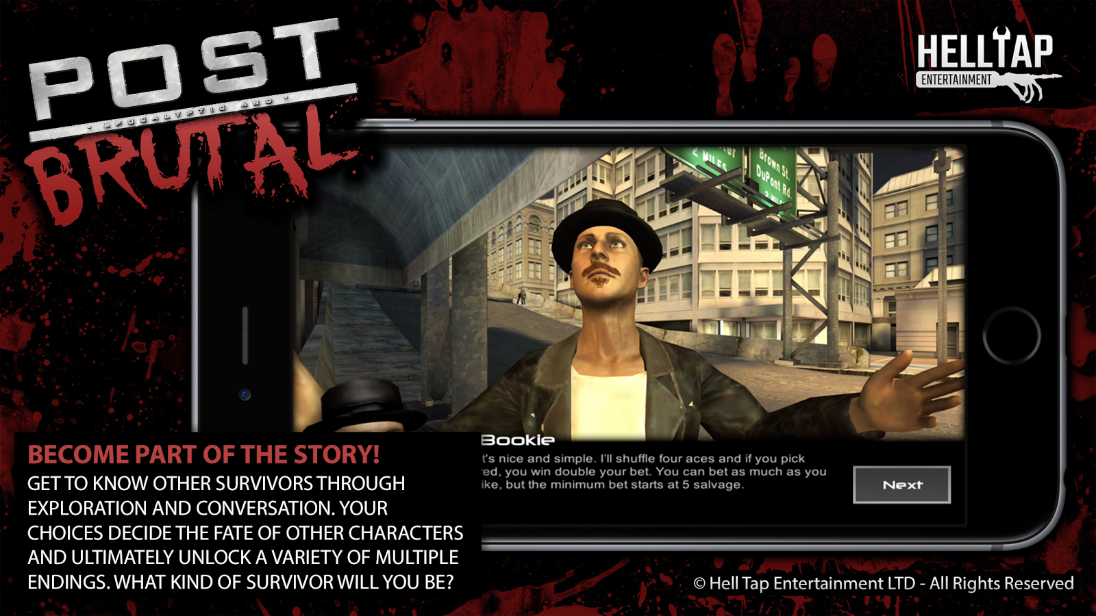Post Brutal: Zombie Action RPG- screenshot