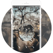 crystal ball memory lock theme APK
