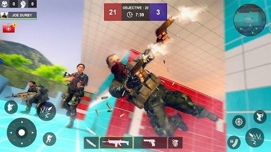 Counter Attack Shooting (CAS) – New FPS Strike Mod Apk Download For Android and Iphone 8