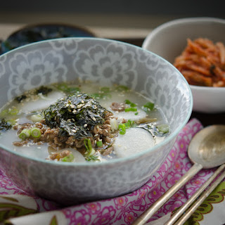 Easy Rice Cake Soup, Miryang style