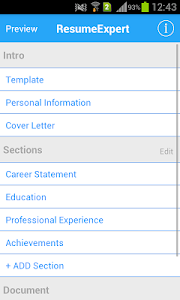 Resume Expert screenshot 0