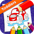 Super Coloring: Vehicles Toddlers icon
