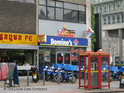 Dominos Pizza On High Street Pizza Takeaway In East
