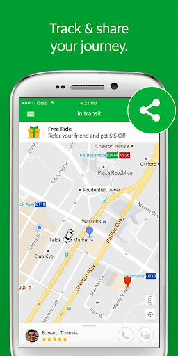 Grab - Cars, Bikes & Taxi Booking App  screenshots 4