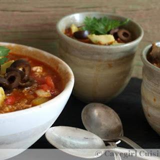 Chorizo-Chicken Chiloup! (paleo chili or soup?).
