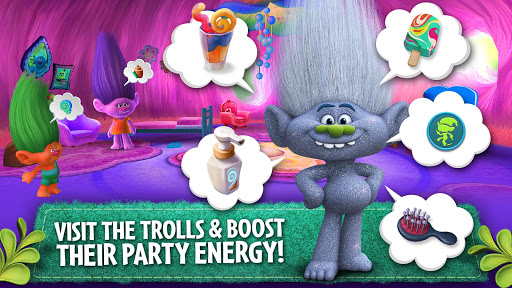 Trolls: Crazy Party Forest! screenshot