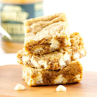 Soft and Chewy Cookie Butter Blondies Recipe