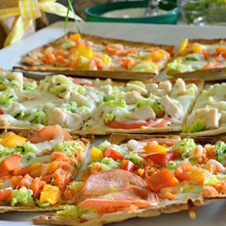 Vegetable Pesto Flatbread Recipe