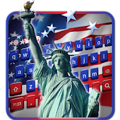 independence day usa keyboard statue liberty us