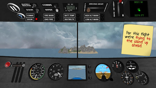 Aircraft driving simulator 3D for PC