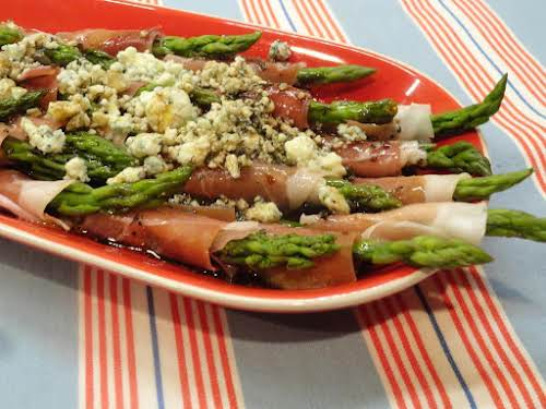 "Wrapped Asparagus ""Delicious! I have made this recipe now several times -..."