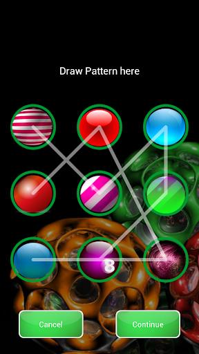 3D Balls Pattern Lock