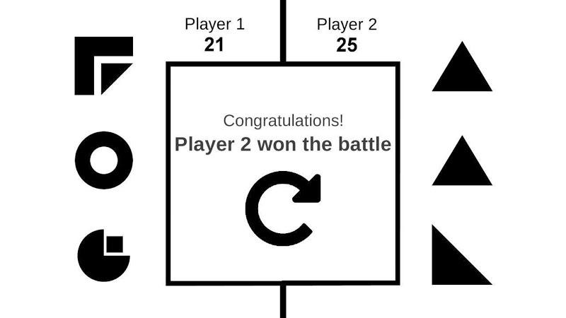 Скриншот ShapeWars für 2 Spieler