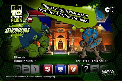 Ben 10 Xenodrome screenshot 2