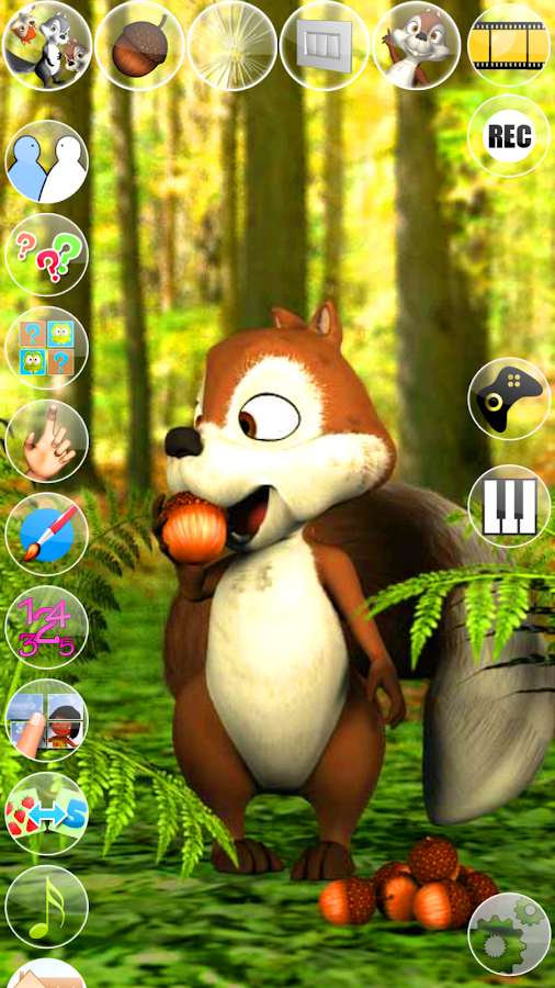 Talking James Squirrel- screenshot