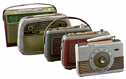Vintage radios. Picture: SUPPLIED