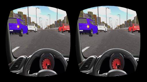 VR Racing in Car
