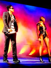 Photo: Beyonce & Jaz-Z  Georgia Dome Atlanta, Ga July 2014