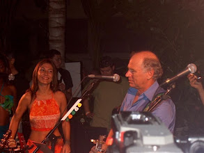 Photo: on stage with Jimmy Buffet in Fort Lauderdale