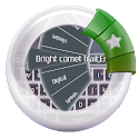 Bright comet trail Emoji icon