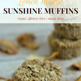 Lemon Mango Sunshine Muffins.