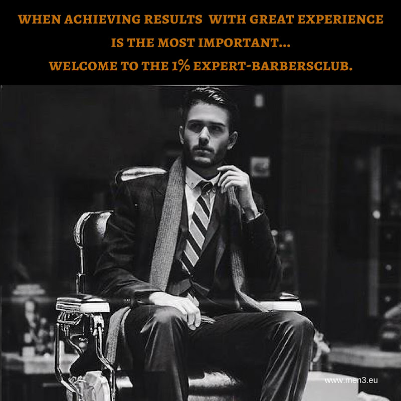 Welcome to the MEN³ Expert-Barbersclub!