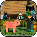 Mod Humanoid Villagers for PE + Map icon