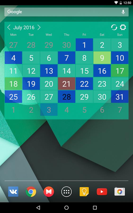 Wallpaper Calendar Widget : Calendar widget pro android apps on google play
