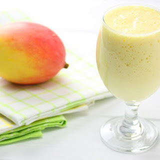 Peach Mango Smoothie.