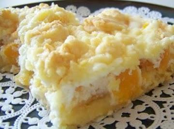 Peachy Keen Bars Recipe