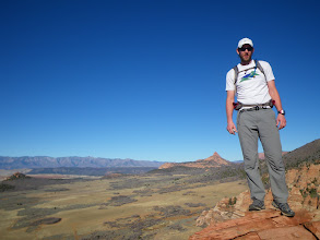 Photo: Me on the summit of Cave Knoll