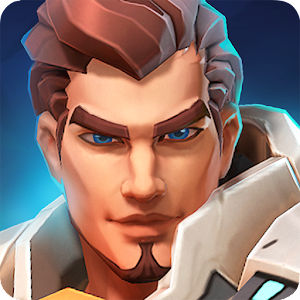 3 sec queue. 3 min matches! A visually stunning real-time 3v3 Shooter MOBA! APK Icon