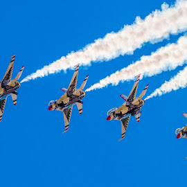 Thunderbirds by Dave Lipchen - Transportation Airplanes ( thunderbirds )