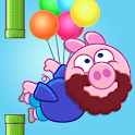 Piggy Free For Kids - Flappy icon