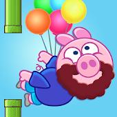 Piggy Flappy - Free flying fun