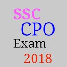 SSC CPO 2018 - G,k Maths English ssc 2018 icon