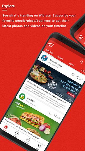 Wibrate - Free Wi-Fi & Messaging Service 3.8 screenshots 1