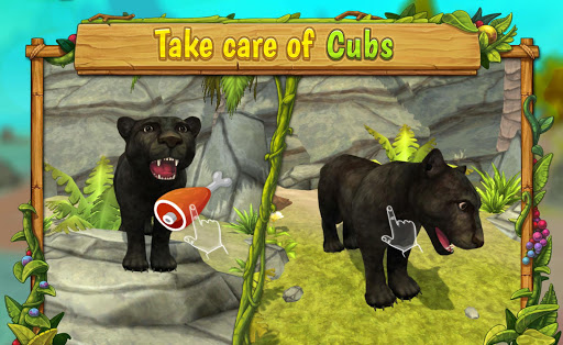 Panther Family Sim Online - Animal Simulator  screenshots 3