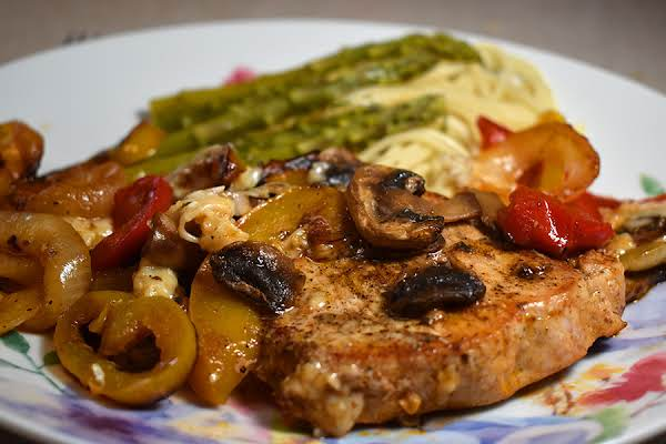 Skillet Pork And Peppers
