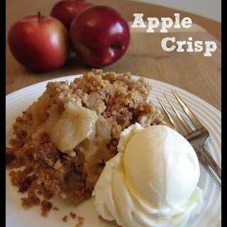 Apple Crisp.