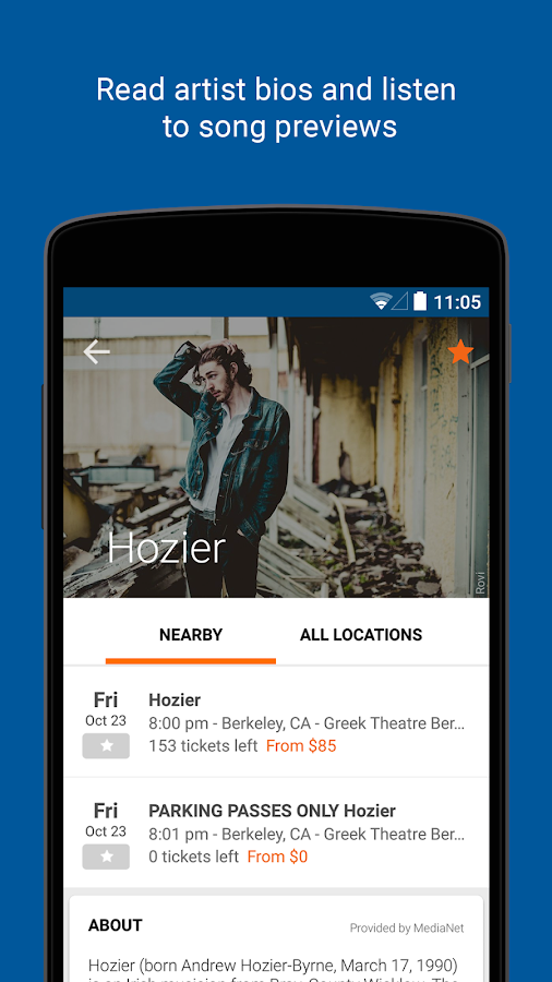 StubHub - Event tickets- screenshot