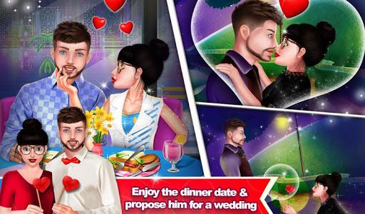 Nerdy Boy College Love Story Game  screenshots 2