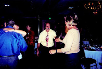 Photo: Ken Whiting dancing with (?) at the 2002 ReUnion of Class of 67