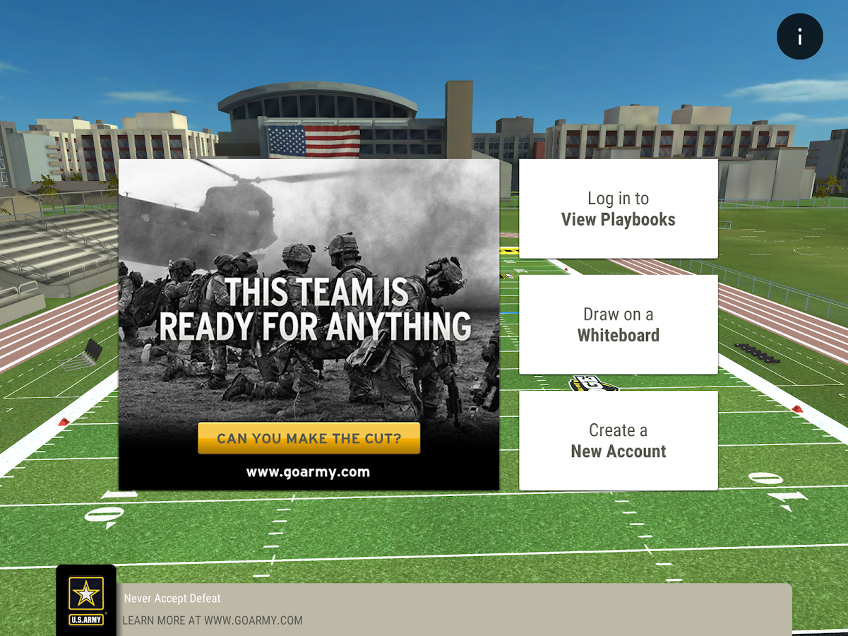 GoArmy Edge Football- screenshot