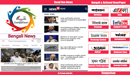 Bengali News Live screenshot 1