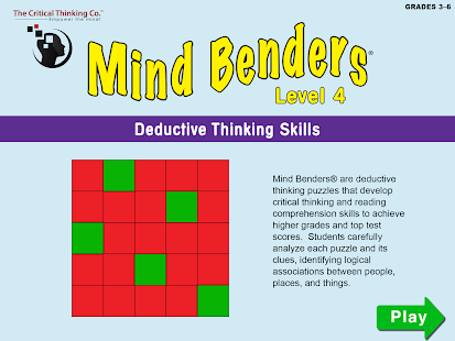 Mind Benders® Level 4- screenshot thumbnail