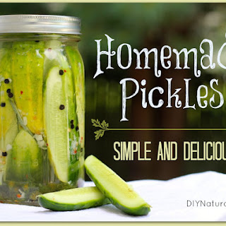 Sliced Cucumber Refrigerator Pickles Recipes